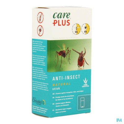 CARE PLUS BIO STICK 50ML (ZONDER DEET)