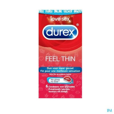 DUREX THIN FEEL CONDOOMS 12
