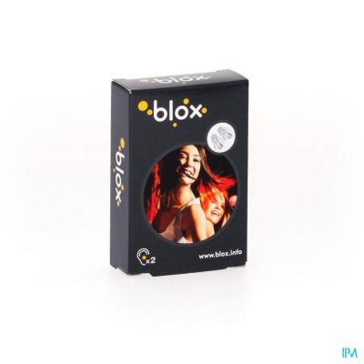 BLOX DISCO TRANSPARANTE OORDOPPEN 1 PAAR
