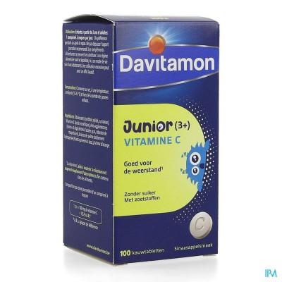 DAVITAMON JUNIOR VITAMINE C 100
