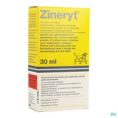 ZINERYT LOTION 30 ML