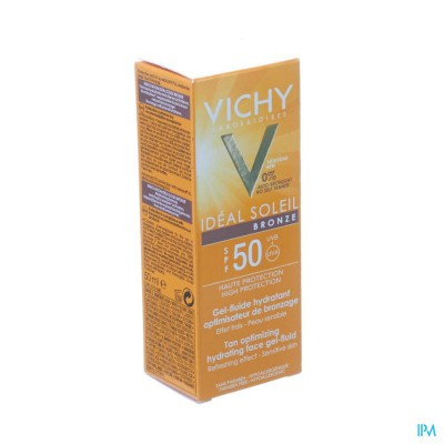 VICHY CAP IDEAL SOLEIL IP50 GEL BRONZE 50ML
