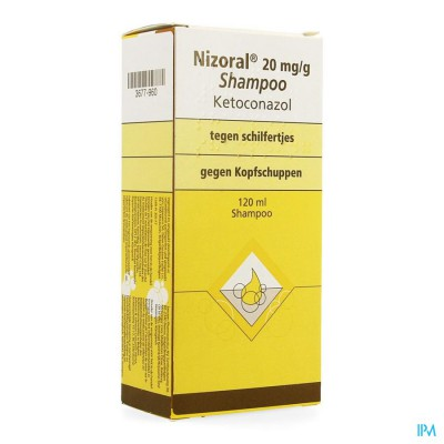 NIZORAL IMPEXECO 20MG/G SHAMPOO 120ML PIP