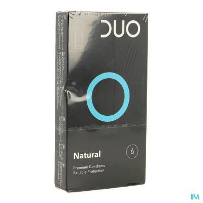 DUO CONDOM NATURAL 6