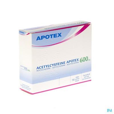 ACETYLCYSTEINE APOTEX SACH 14 X 600 MG