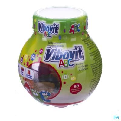 VIBOVIT JUNIOR 4+ ABC GUMMIES 50