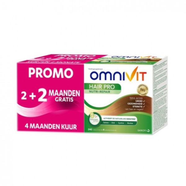 OMNIVIT HAIR PRO NUTRI REPAIR COMP 120+120 PROMO