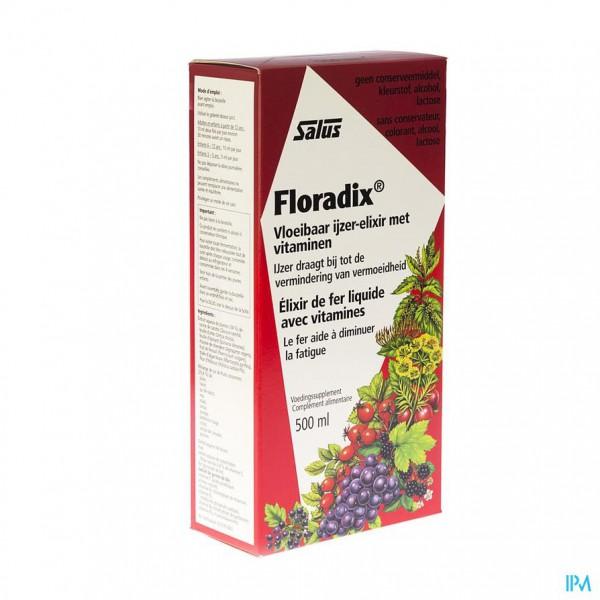 Salus Floradix Elexir 500ml Apotheek Pharveda