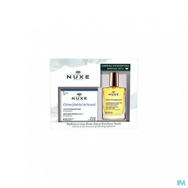 Nuxe Koffertje Fris Cr Hydra 48u Nh 50ml+olie 30ml